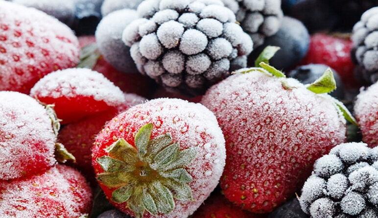 produits surgelés, fruits surgelés
