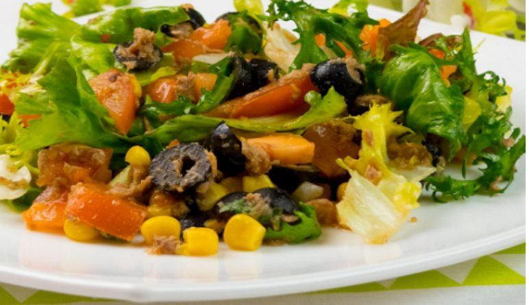 Salade Royale, Salades santé, salades saines, salades faciles, salade au thon