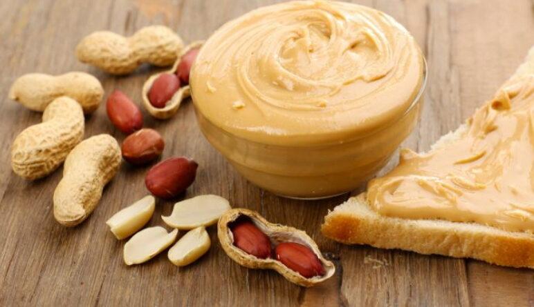le beurre d'arachide, cacahouètes
